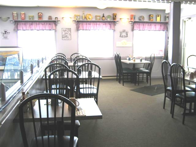 The Idle Thyme Restaurant at Traverse Bay Corner in Manitoba Canada
